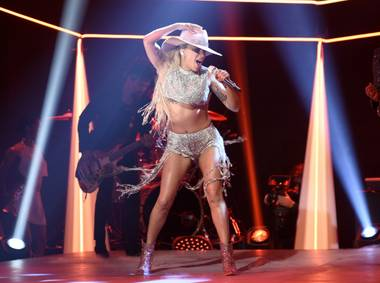 "Lady Gaga performs on ""Saturday Night Live"" on Oct. 22  in New York."