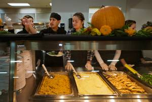 Catholic Charities Thanksgiving Meal