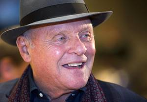 Anthony Hopkins' Art Exhibit