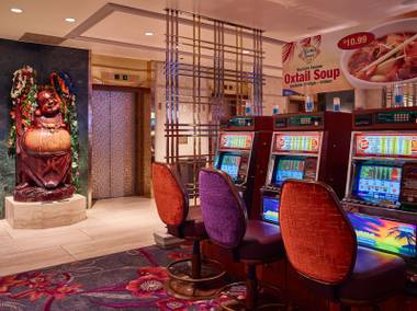 An ambitious renovation of the California Hotel and Casino in downtown Las Vegas has been completed, giving new flair to its Hawaiian motif. In the hotel's west tower, 435 guest rooms and 56 suites are being updated with new furniture, carpet and fixtures ...