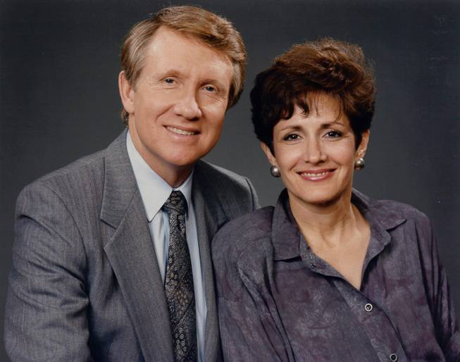 Harry and Landra in 1986.