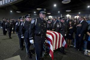 Funeral For North Las Vegas Detective