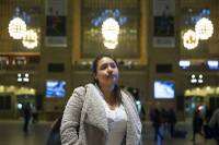 When the customs agent at John F. Kennedy International Airport stamped Jenifer Guzman Gonzalez's Mexican passport Monday, Guzman was too anxious to look at it ...
