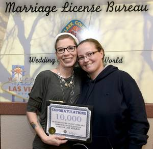 10,000th Clark County Same-Sex Marriage License