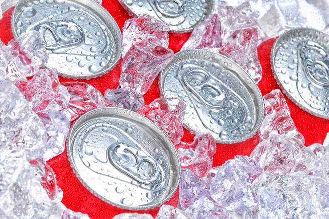 Based on the American Heart Association's recommendation for a person's daily max of added sugar, one soda would put you over the line.