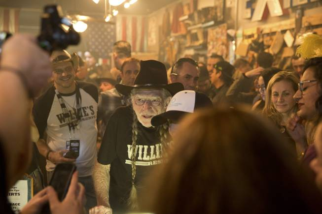 Willie's Reserve Event in Downtown Las Vegas