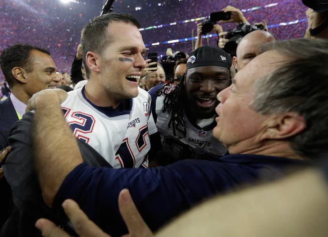 Patriots the favorite in Vegas to win Super Bowl next season