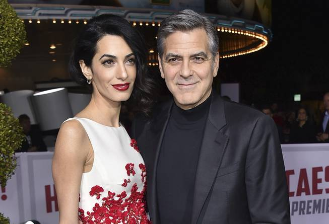 George, Amal Clooney welcome twins, Ella and Alexander