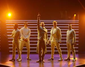 Backstreet Boys Start Residency at Axis Theater