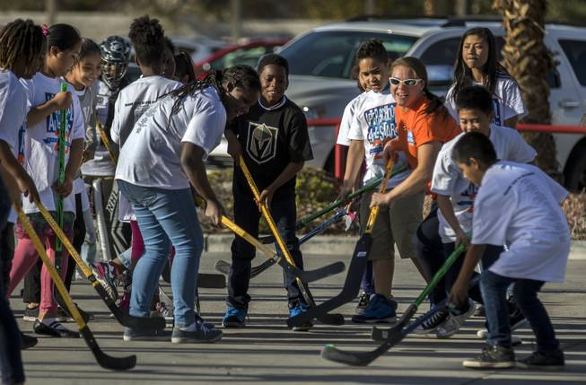 Youth Hockey Clinic at Toyota