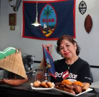The owner of Guamanian restaurant Red Rice shares her experience opening a business with little experience, talks about teachers being devalued by society and explains why she doesn't eat sushi.