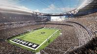A look at the proposed $1.9 billion domed football stadium for the Oakland Raiders and UNLV football in Las Vegas.