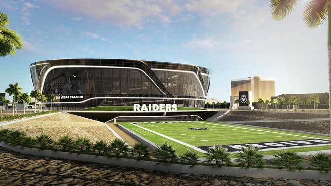Raiders stadium in LV