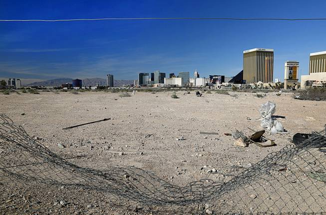 Las Vegas Raiders stadium: Russell Road Site