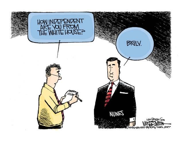 Reporter asks Congressman Nunes,
