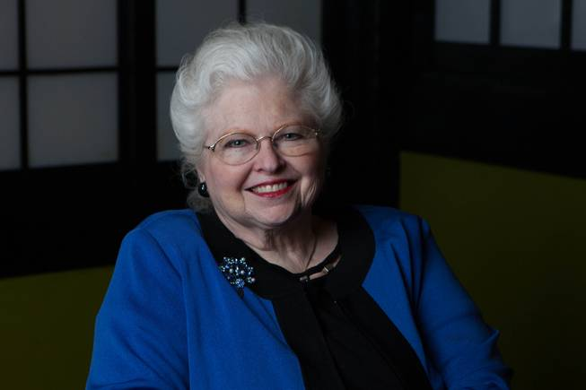 "Sarah Weddington poses for a photo inside the Westgate Las Vegas on March 30, 2017. She was the lawyer who successfully represented ""Jane Roe"" in the landmark Supreme Court case Roe v. Wade."
