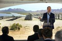 On a typical bright and sunny day in the desert, conditions perfect for solar energy generation, dignitaries and executives gathered to celebrate the area's latest solar project, Boulder Solar l. Constructed on 542 acres off U.S. 95 on the outskirts of Boulder City, the 100 megawatt (MW) facility features ...