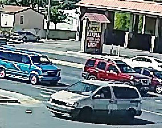 Richi Briones was seen Wednesday, April 19, 2017, driving south from the area of Lamb Boulevard and Bonanza Road in this worn-out, tan-colored Toyota Sienna minivan with front damage.