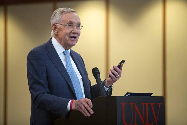 Harry Reid Named As Distinguished Fellow in Law and Policy At UNLV