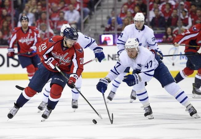 Johansson ends Leafs' season, sets up Capitals-Penguins rematch