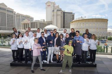 The annual celebrity chef and food fest returns to the Strip May 10-13.