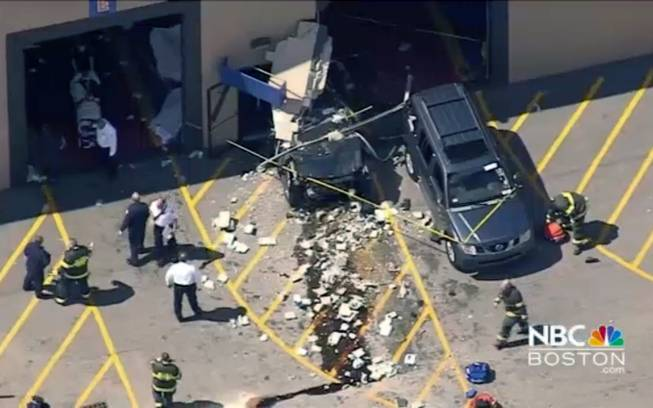 3 dead as car crashes into crowded Massachusetts auto auction