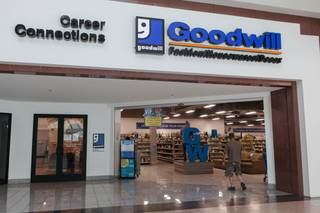 A look inside the Good Will Career Connection Center in Las Vegas, Nev. on May 4, 2017.