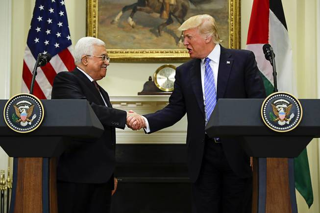 Everyone in the Dark over Trump's Next Move Following Abbas Meeting