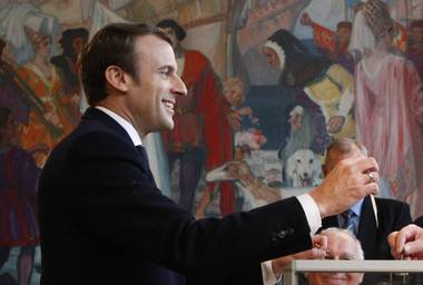 French President Emmanuel Macron's upstart centrist party suffered its first electoral blow Sunday, as traditional conservatives dominated Senate elections amid mounting disenchantment with Macron's leadership...
