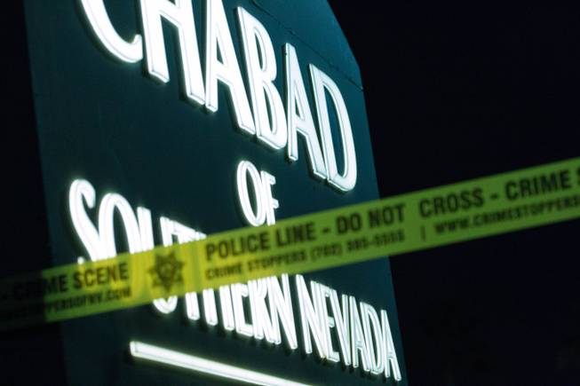 Arson investigation underway at Las Vegas Chabad