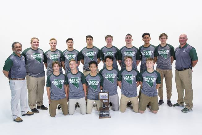 The Green Valley High School wrestling team is a Team of the Year finalist at the Sun Standout Awards.