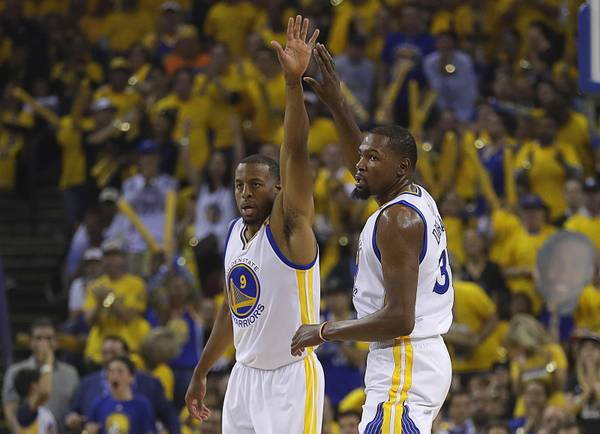 0a70a1247af Durant makes his mark in Game 1 of NBA Finals for Warriors