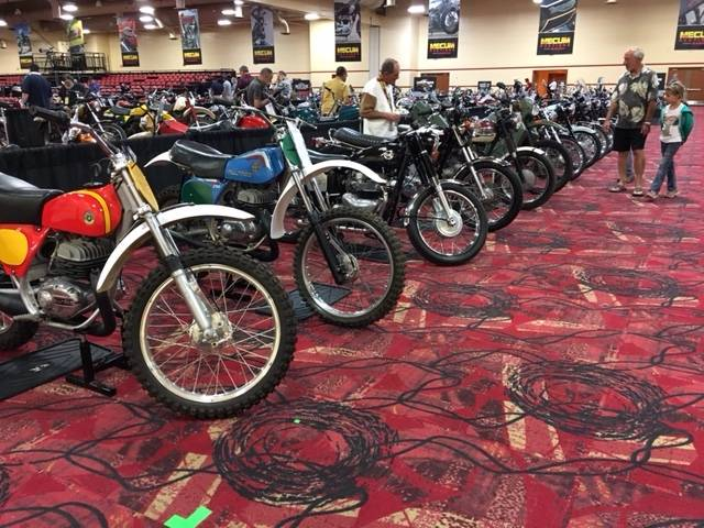 More than 600 bikes will be up for sale beginning Friday, June 2, 2017, during the two-day Mecum Las Vegas Motorcycle Auction at the South Point Exhibit Hall.