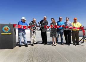 Airport Connector Flyover Ramp Opens