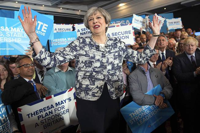 Theresa May's early election gamble backfires - exit poll indicates hung parliament