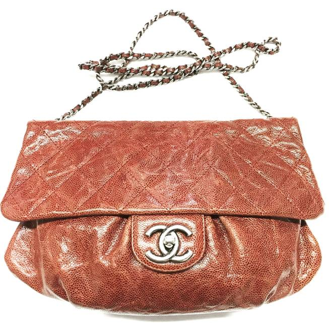 Chanel glossy caviar cross-body from Closet Couture, $1,950