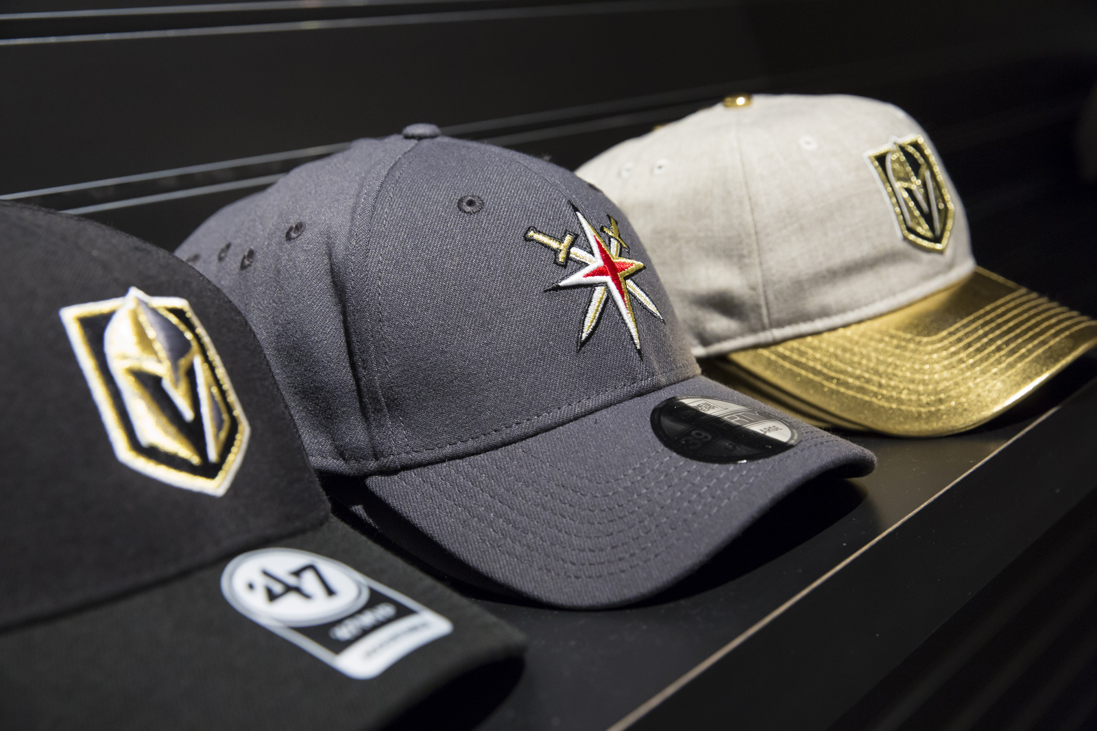 detailed look 3aaa8 c6fdc Vegas Golden Knights bring the town's first pro swag at the ...