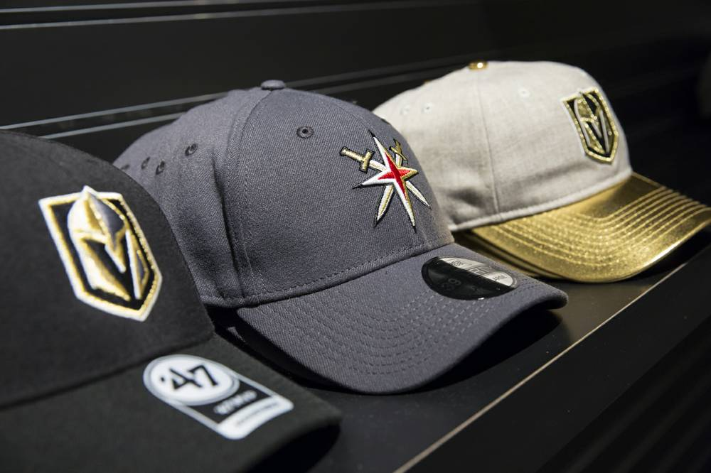 detailed look 78cd8 5924d Vegas Golden Knights bring the town's first pro swag at the ...