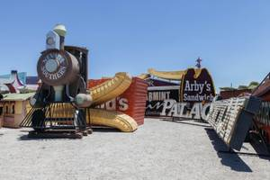 Palace Station Sign Unveiling at Neon Museum