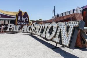 Image result for palace station sign at boneyard