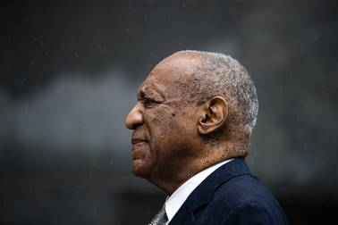 Bill Cosby exits the Montgomery County Courthouse after a mistrial in his sexual assault case in Norristown, Pa., Saturday, June 17, 2017. Cosby's trial ended without a verdict after jurors failed to reach a unanimous decision.