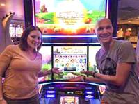 A pair from Phoenix is $944,337 richer after hitting a jackpot at a Harrah's penny slot machine ..