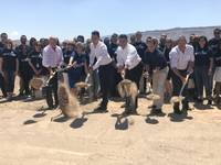 The Howard Hughes Corp. hosted a groundbreaking ceremony for Aristocrat Technologies Inc.' new 180,000-square-foot Summerlin facility Friday.. ...