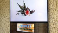 A menu sign that shows some of the edible marijuana products for sale is pictured at the Mynt Cannabis Dispensary in downtown Reno, Nev., is pictured Wednesday, June 21, 2017. The Mynt is one of at least four medical marijuana dispensaries in Reno that have received the necessary local licenses and are ready to start selling marijuana for recreational use on July 1 if the state is able to comply with a court order regarding distribution licenses.