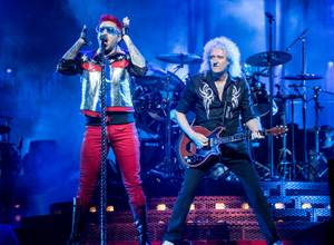Queen with Adam Lambert At T-Mobile