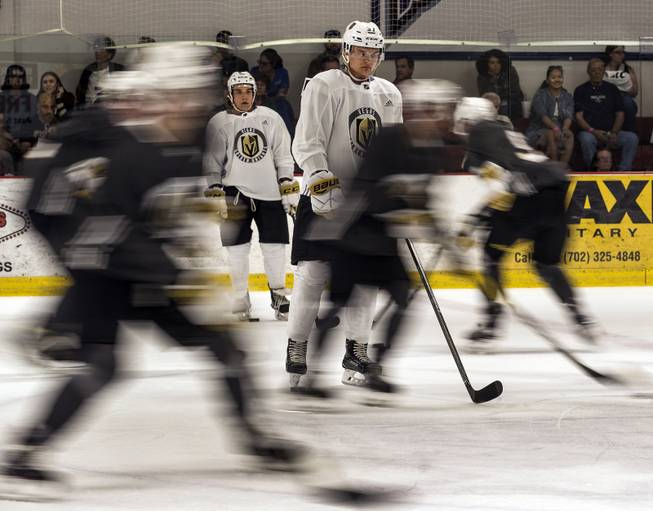 Golden Knights First Practice