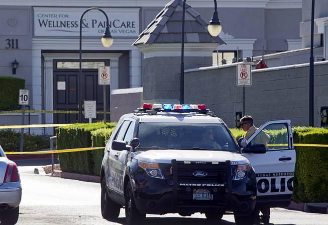 Gunman opens fires inside Las Vegas clinic