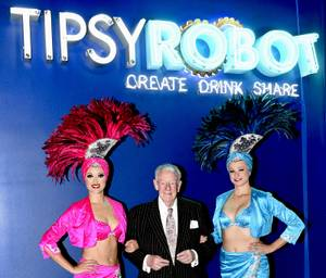 Grand Opening of Tipsy Robot