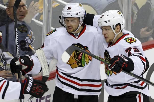 Vegas acquires center Marcus Kruger in trade with Blackhawks