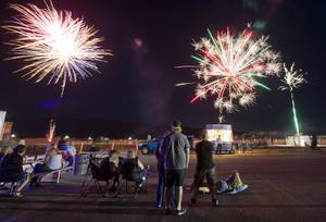 Fireworks Over Pahrump